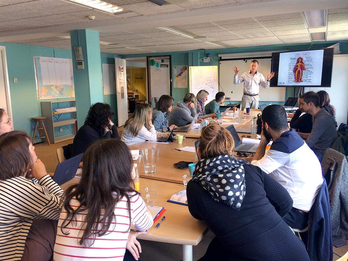 Two-day train-the-trainer workshop in Amsterdam